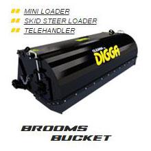 Brooms Bucket