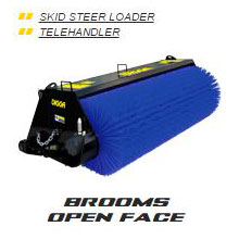 Brooms Open Face
