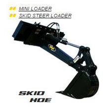 Skid Hoe